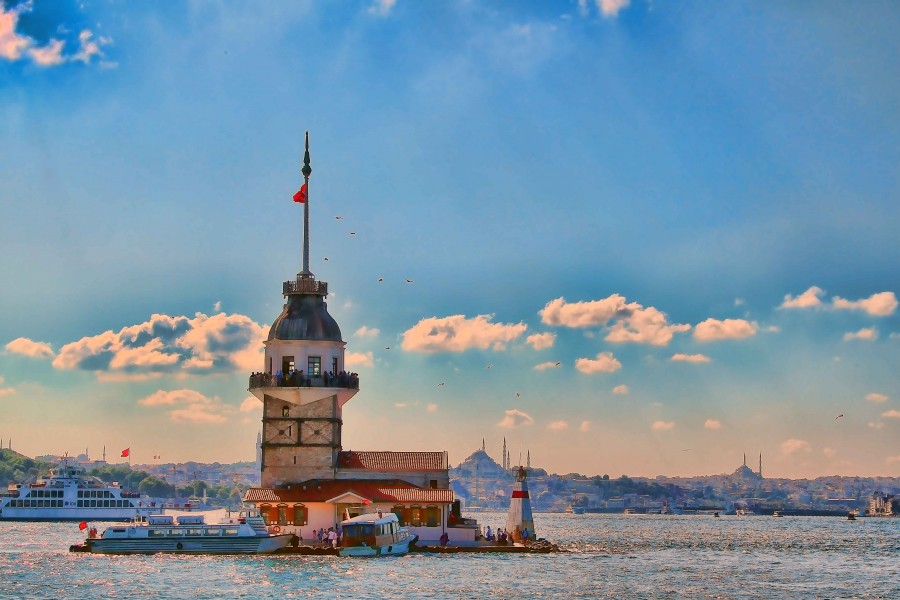 Bosphorus Cruise Tour Half day Afternoon