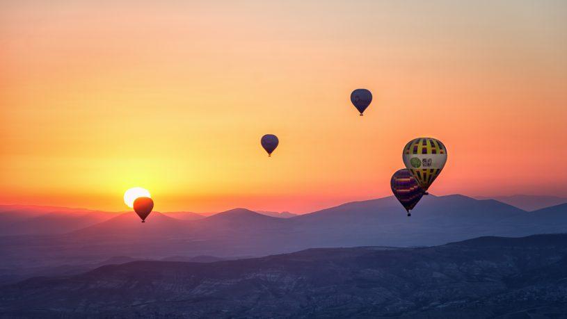Private Hot Air Balloon Ride
